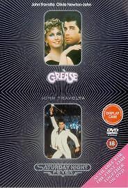 Grease-Saturday-Night-Fever-DVD-2002-2-Disc-Set-Box-Set