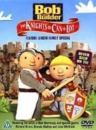 Bob-the-Builder-Knights-of-Can-a-lot-DVD-NEW-SEALED-FREE-P-amp-P