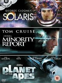 Solaris-Minority-Report-Planet-Of-The-Apes-DVD-2004-3-Disc-Set-Box-Set