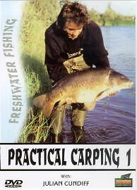 Freshwater-Fishing-Practical-Carping-1-DVD-Julian-Cundiff-1st-Class-Postage