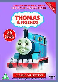 Thomas & Friends. Series 1. Dvd. Region 2. Thomas The Tank Engine. Ringo Starr