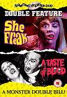 She Freak / A Taste Of Blood (DVD, 2006)