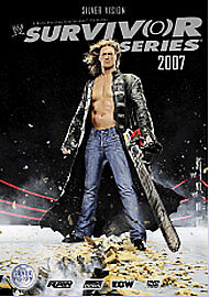 WWE WRESTLEMANIA SURVIVOR SERIES  2007  DVD Region Free