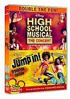 High School Musical - The Concert/Jump In! (DVD, 2008, 2-Disc Set, Box Set)