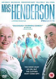 Mrs Henderson Presents DVD 2006 Now an award winnning West End Show - Potters Bar, United Kingdom - Mrs Henderson Presents DVD 2006 Now an award winnning West End Show - Potters Bar, United Kingdom