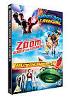 Zoom - Academy For Superheroes/Thunderbirds/The Adventures Of Shark Boy And Lava Girl (DVD, 2008, 3-Disc Set, Box Set)