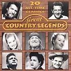 Various Artists - Great Country Legends [Hallmark] (1997)