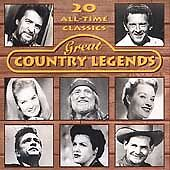 Various Artists - Great Country Legends, Various Artists, Good CD