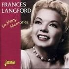 Frances Langford - So Many Memories (2001)