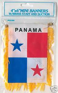 PANAMA-CAR-FLAG-MINI-BANNER