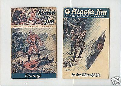 13 verschiedene Original -   Alaska Jim  - 1935-1939