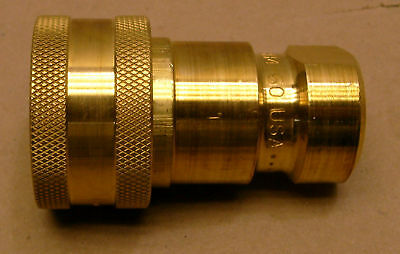 Parker 60 Series General Coupling Brass Hydraulic