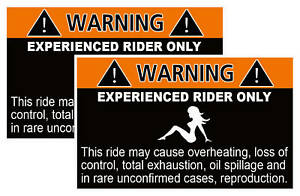 Experienced-Rider-Off-Road-Race-Sticker-Dirt-Bike-decal