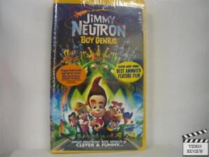 Jimmy Neutron: Boy Genius (VHS, 2003, Clam Shell)