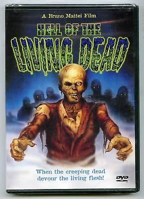 Hell Of The Living Dead (dvd) Bruno Mattei, Margie Newton, Anchor Bay Dvd