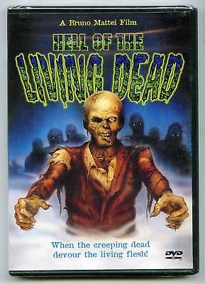 Hell Of The Living Dead (dvd) Bruno Mattei, Margie Newton, Anchor Bay Dvd