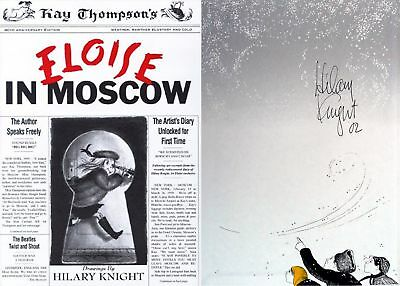 Knight/thompson Signed Eloise In Moscow 2000 Revised Ed