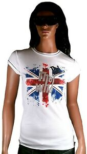 Hot AMPLIFIED Official THE WHO Union Jack Vintage Rock Star ViP T-Shirt g.XS