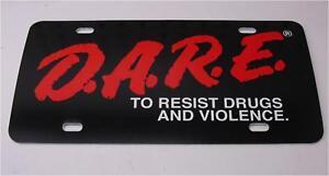 Police-DARE-D-A-R-E-License-Plate-Cop-Interceptor