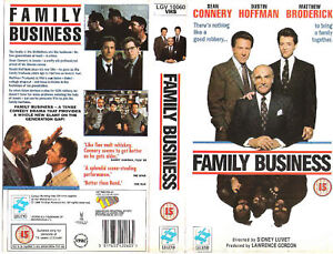 Image Is Loading FAMILY BUSINESS VHS PAL SEAN CONNERY DUSTIN HOFFMAN