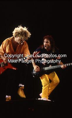 Van Halen - Sammy Hagar Michael Anthony Rock Art Photo