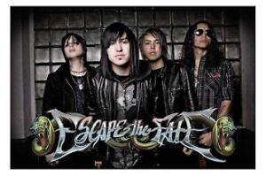 ESCAPE THE FATE BAND POSTER 60x90cm NEW Max Green Craig Mabbitt