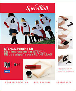 SPEEDBALL-STENCIL-SCREEN-PRINTING-KIT-FRAME-SQUEEGEE