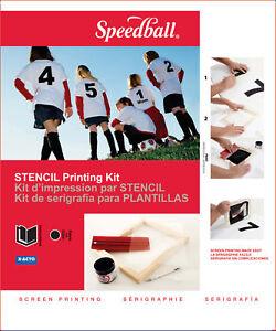 SPEEDBALL-STENCIL-SCREEN-PRINTING-KIT-FRAME-SQUEEGEE
