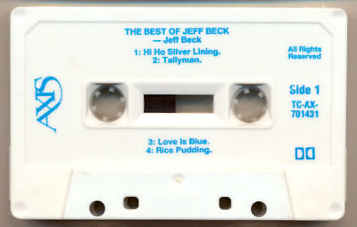 JEFF-BECK-The-Best-Of-Jeff-Beck-COMPACT-CASSETTE