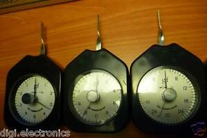 Maximum Tension Gram Meter; Dial Push Pull Force Gauge Scale; Choice of Capacity