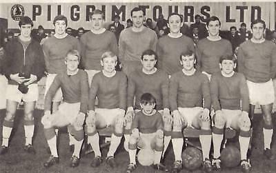 LINCOLN CITY FOOTBALL TEAM PHOTO 1967-68 SEASON