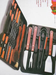 18-Piece-Barbecue-Set-stainless-steel-Grill-BBQ-Pc-tool-with-carrying-case