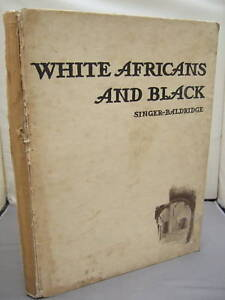 White-Africans-and-Black-Singer-Baldridge-HB-1949
