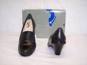 Soft Walk Women Rimini Black Shoe Size 12 Narrow New !
