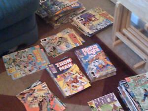 1-lot-of-75-OLD-COMICS-MARVEL-DC-SPIDERMAN-batman-XMEN