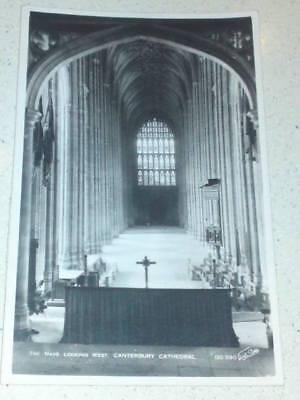Canterbury Cathedral #28 postcard