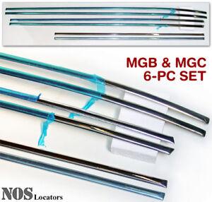 MGB-MGC-6-pc-Side-Moulding-Set