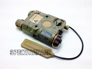 Functional-PEQ-15-Illuminator-LED-w-Green-Laser-Dark-Earth-Devgru-aor1-TB69