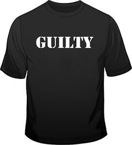 Bikers-Guilty-Funny-T-Shirt-M-2XL-Black-Red-Blue