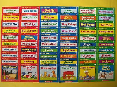 First Little Readers Lot 60 Full Color Children's Learn To Read Books