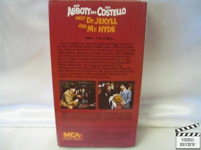 abbott and costello meet dr jekyll mr hyde vhs