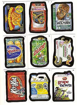 2010 WACKY PACKAGES Series 7 ANS Complete Set  55 CARDS