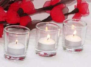 84-Clear-50mm-Glass-Votive-Tealight-Candle-Holder-Wedding-Reception-Ceremony