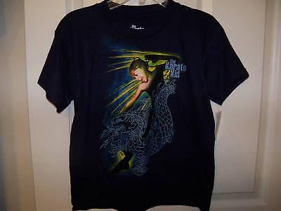 The Karate Kid Short Sleeve Shirt Blue Size 4 83