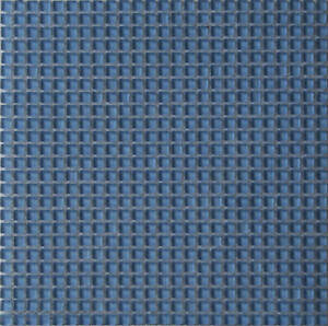 Light Blue 3/8in Glass Mosaic Tiles