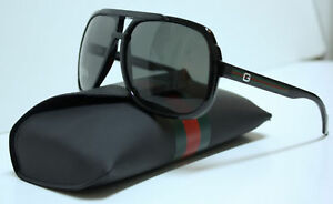 AUTHENTIC-GUCCI-GG-1622-S-D28-R6-BLACK-SUNGLASSES
