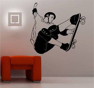HUGE-SKATEBOARDER-wall-art-sticker-vinyl-BEDROOM-KIDS