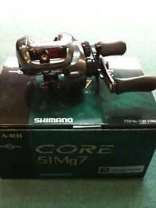 New-Shimano-Core-51Mg7-Left-Hand-Baitcasting-Fishing-Reel-7-0-1-Core51Mg7-NIB