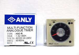 1pc-Industrial-Timer-H3C-R-AC-DC-24-240Vin-0-2S-300H-ANLY-Taiwan