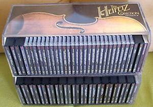 THE-HEIFETZ-COLLECTION-VOL-1-46-RCA-USA-65CDs-COMPLETE-1ST-ED-Collectible